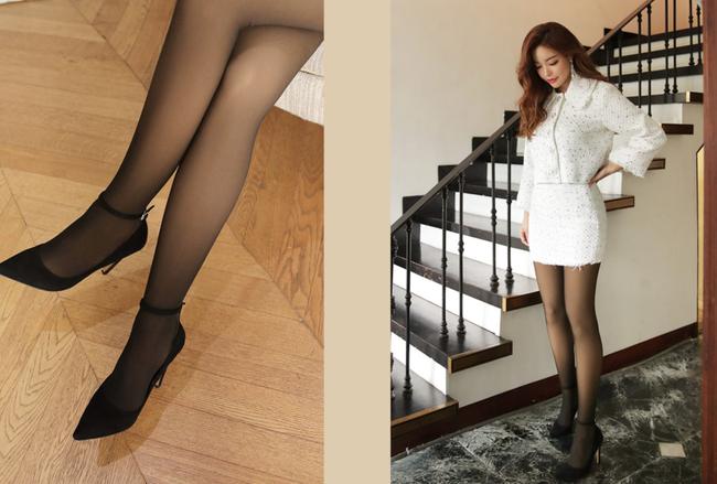Quần tất da chân sẽ rất dễ biến bạn thành thảm họa thời trang nếu còn mặc theo cách này  - Ảnh 1.