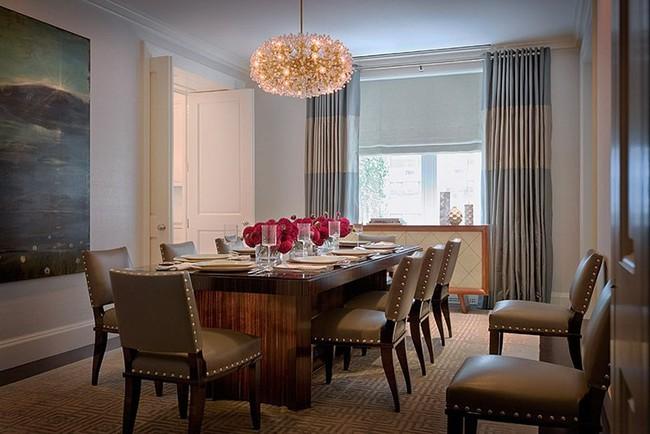 Nếu là người hiếu khách thì đây chính là những mẫu bàn ăn chuẩn chỉnh dành cho bạn - Ảnh 13.