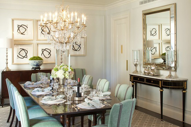 Nếu là người hiếu khách thì đây chính là những mẫu bàn ăn chuẩn chỉnh dành cho bạn - Ảnh 17.