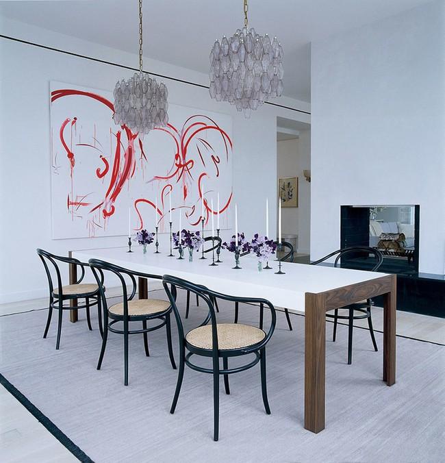 Nếu là người hiếu khách thì đây chính là những mẫu bàn ăn chuẩn chỉnh dành cho bạn - Ảnh 6.