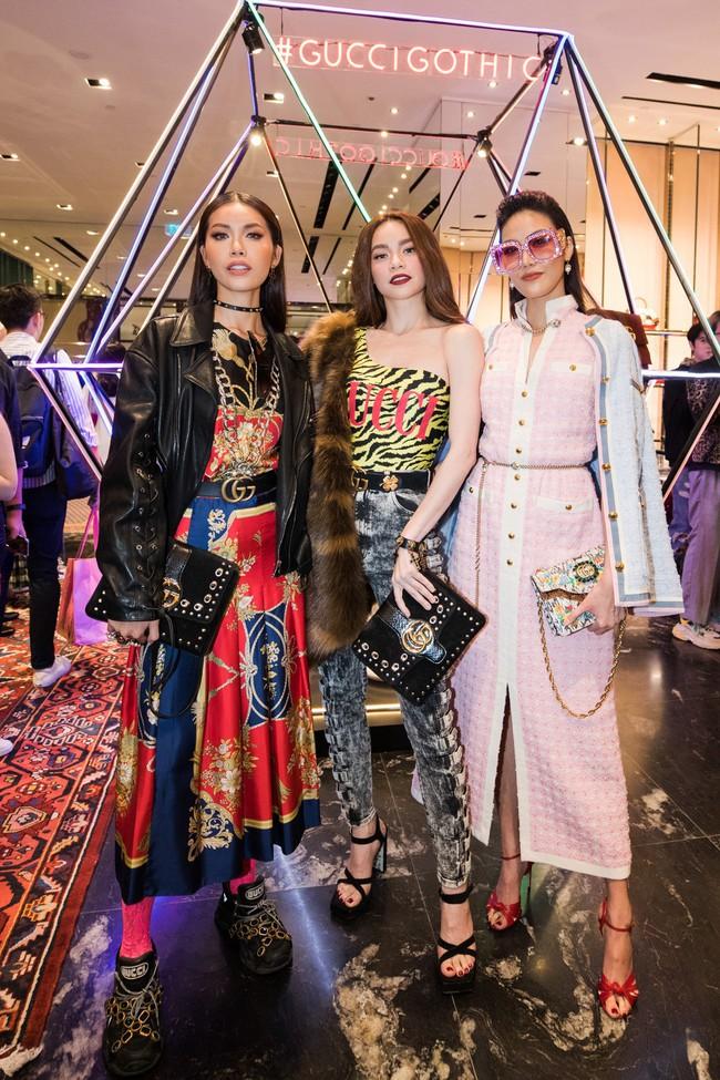 Mọi đôi bạn thân cũ đều hội tụ tại sự kiện Gucci: Kỳ Duyên đụng độ Jolie Nguyễn, Chi Pu tái ngộ Gil Lê - Ảnh 1.