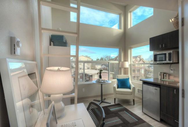 Danh sách 13 căn hộ siêu nhỏ gây thương nhớ nhờ thiết kế ăn gian diện tích tài tình - Ảnh 1.