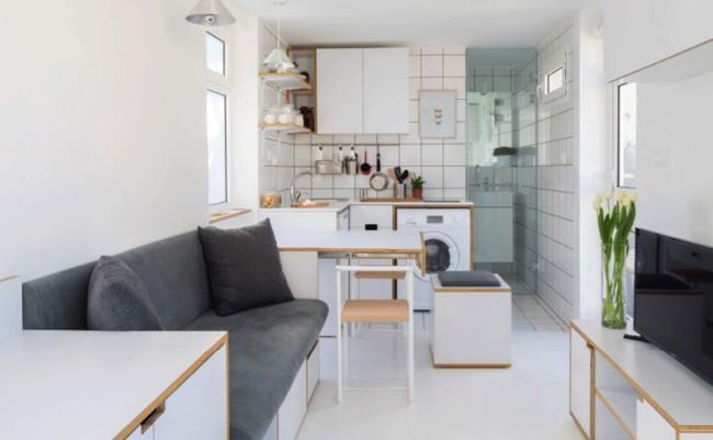 Danh sách 13 căn hộ siêu nhỏ gây thương nhớ nhờ thiết kế ăn gian diện tích tài tình - Ảnh 14.