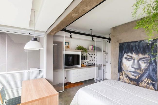 Danh sách 13 căn hộ siêu nhỏ gây thương nhớ nhờ thiết kế ăn gian diện tích tài tình - Ảnh 15.