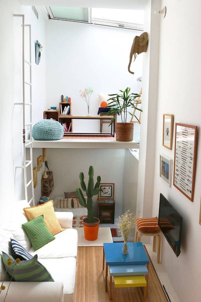 Danh sách 13 căn hộ siêu nhỏ gây thương nhớ nhờ thiết kế ăn gian diện tích tài tình - Ảnh 16.