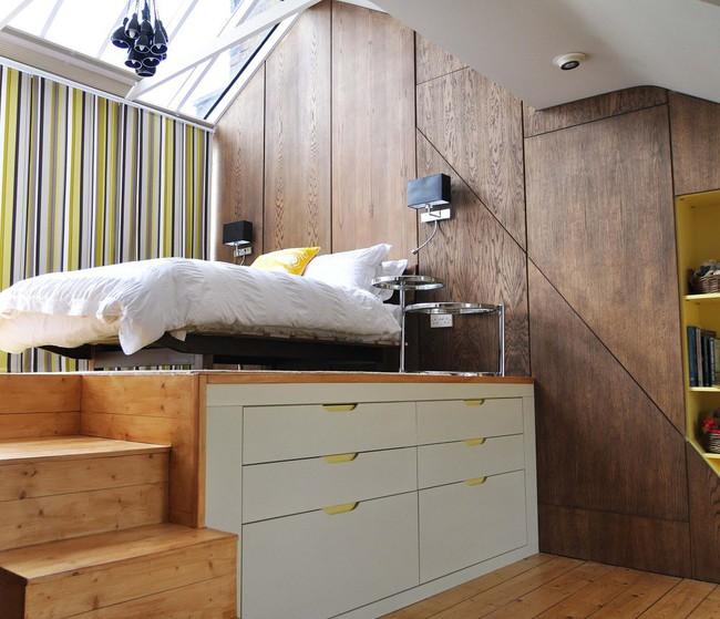 6 thiết kế giường đặc biệt dành riêng cho những phòng ngủ có diện tích nhỏ - Ảnh 2.