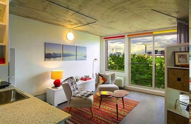 Danh sách 13 căn hộ siêu nhỏ gây thương nhớ nhờ thiết kế ăn gian diện tích tài tình - Ảnh 4.