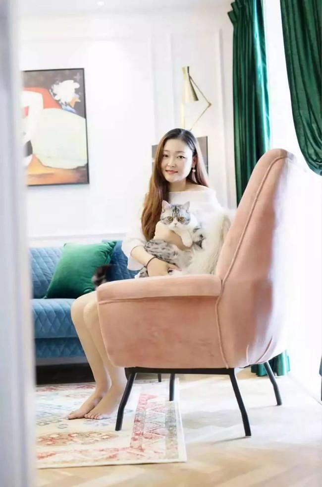 Căn hộ 79m2 đẹp sang chảnh và duyên dáng đến từng góc nhỏ của nữ thiết kế trẻ độc thân xinh đẹp - Ảnh 3.