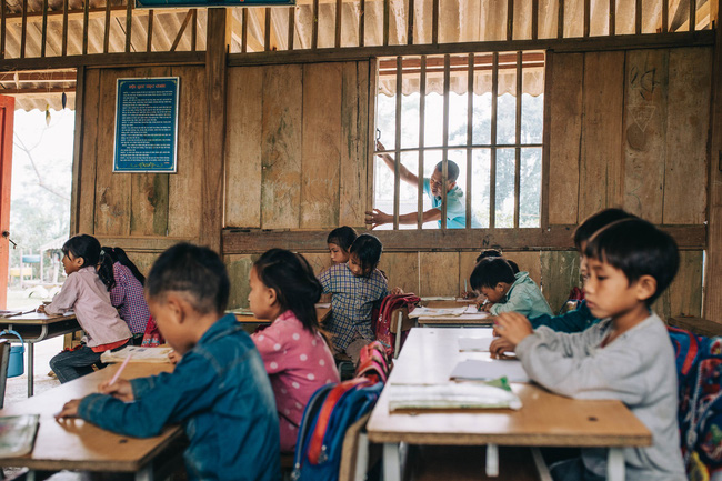 KTS Phạm Đình Quý - 5 năm đi xây 105 điểm trường vùng cao: Cứ thấy các cháu khổ mình lại tiếp tục cố gắng - Ảnh 8.