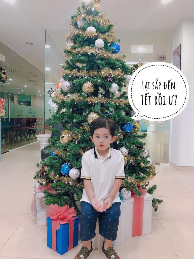 Ngắm loạt nhóc tỳ nhà sao Việt cực dễ thương trong loạt ảnh Giáng sinh, bất ngờ nhất là cô tiểu thư này - Ảnh 5.