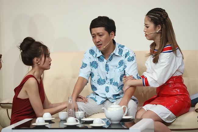 Hari Won sốc khi liên tục bị Puka cưỡng hôn trên sóng truyền hình  - Ảnh 14.