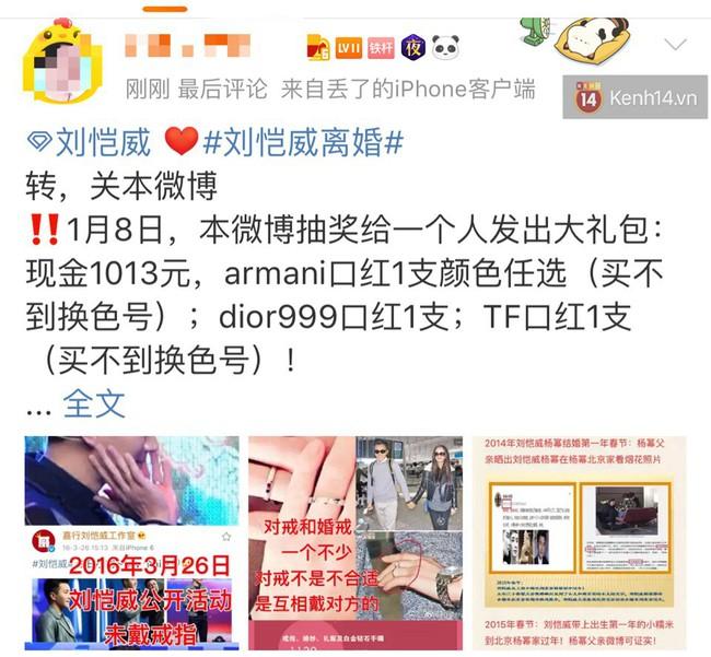 Chuyện lạ: Dương Mịch – Lưu Khải Uy ly hôn, fan không hề khẩu chiến mà còn thi nhau tặng mỹ phẩm cao cấp ăn mừng - Ảnh 8.