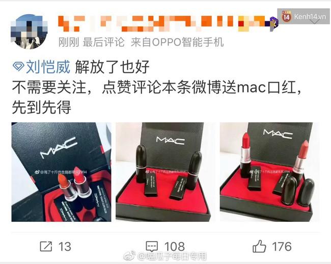 Chuyện lạ: Dương Mịch – Lưu Khải Uy ly hôn, fan không hề khẩu chiến mà còn thi nhau tặng mỹ phẩm cao cấp ăn mừng - Ảnh 9.