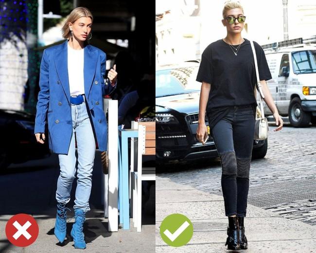 """Hãy tránh kiểu diện quần jeans + boots thấp cổ này nếu các nàng không muốn vóc dáng bị dìm """"tơi tả"""" - Ảnh 1."""