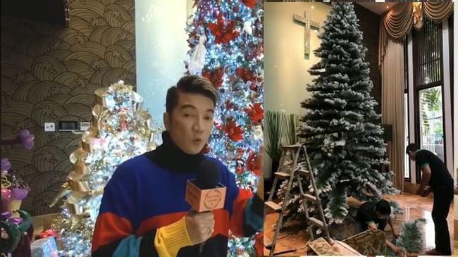 Biệt thự 60 tỷ của Đàm Vĩnh Hưng lung linh trong ngày Giáng sinh - Ảnh 3.