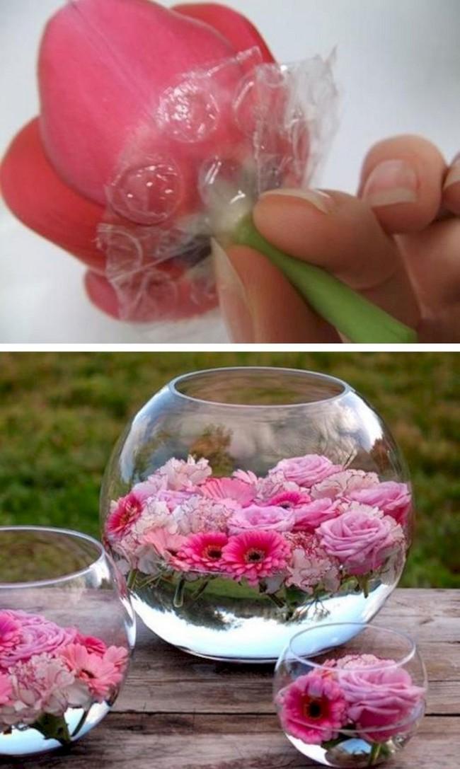 7 mẹo vặt và thủ thuật giúp bạn cắm hoa đẹp, hóa nữ công gia chánh trong mắt mọi người - Ảnh 5.