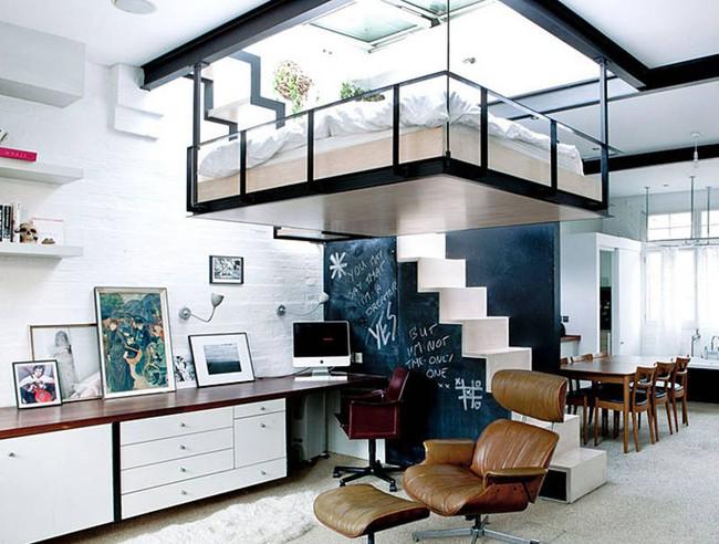 Gợi ý 10 thiết kế phòng ngủ cho căn hộ có diện tích nhỏ mà bạn có thể áp dụng ngay  - Ảnh 10.