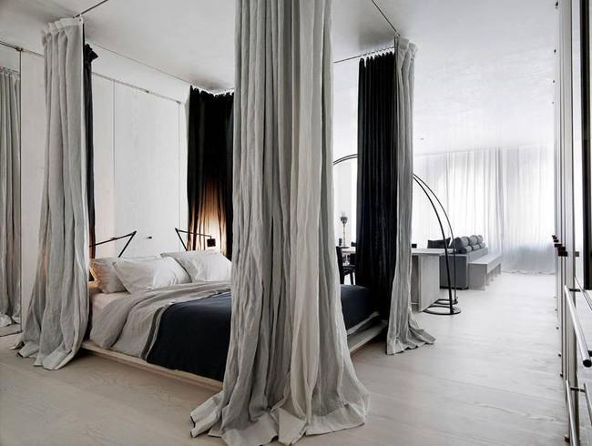 Gợi ý 10 thiết kế phòng ngủ cho căn hộ có diện tích nhỏ mà bạn có thể áp dụng ngay  - Ảnh 5.