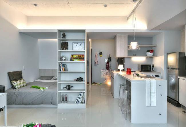 Gợi ý 10 thiết kế phòng ngủ cho căn hộ có diện tích nhỏ mà bạn có thể áp dụng ngay  - Ảnh 6.