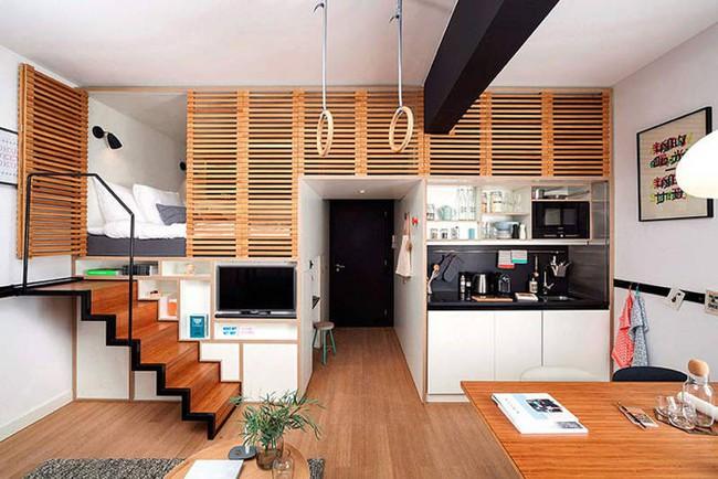 Gợi ý 10 thiết kế phòng ngủ cho căn hộ có diện tích nhỏ mà bạn có thể áp dụng ngay  - Ảnh 8.