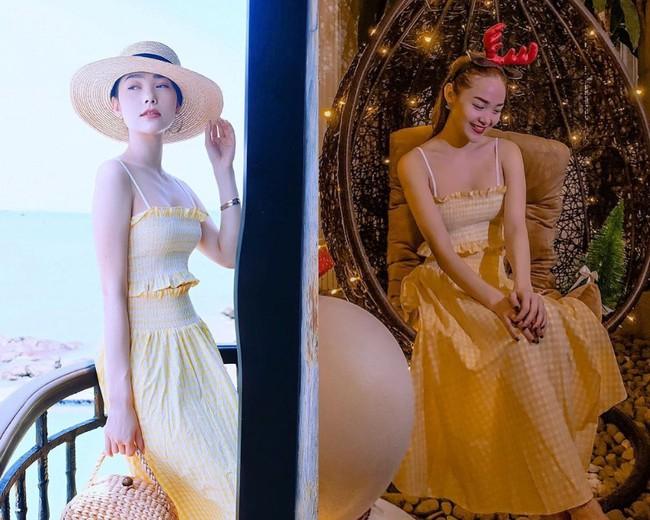 Tiết kiệm hết cỡ như Minh Hằng: Diện váy đi biển mùa hè để mừng Giáng sinh nhưng vẫn đẹp lung linh miễn bàn - Ảnh 3.