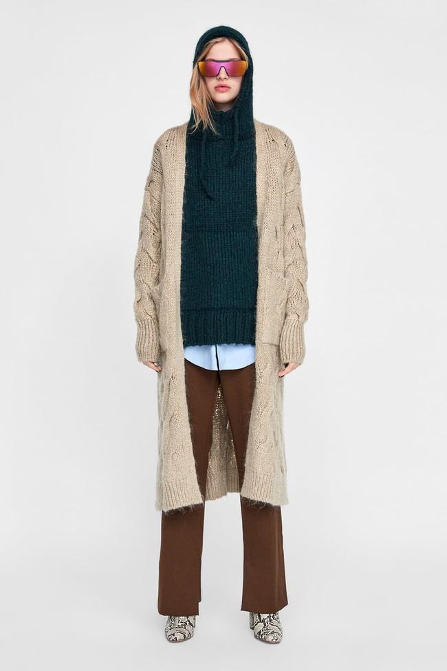 15 mẫu áo cardigan xinh hết ý từ Zara, Mango, Topshop mà các nàng sẽ muốn sắm bằng hết cho tủ đồ của mình - Ảnh 13.