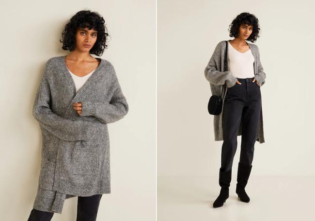 15 mẫu áo cardigan xinh hết ý từ Zara, Mango, Topshop mà các nàng sẽ muốn sắm bằng hết cho tủ đồ của mình - Ảnh 10.