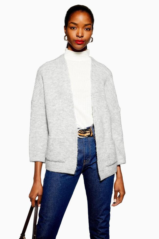 15 mẫu áo cardigan xinh hết ý từ Zara, Mango, Topshop mà các nàng sẽ muốn sắm bằng hết cho tủ đồ của mình - Ảnh 5.