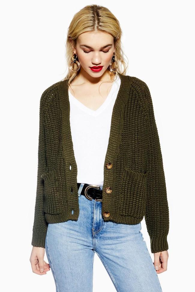 15 mẫu áo cardigan xinh hết ý từ Zara, Mango, Topshop mà các nàng sẽ muốn sắm bằng hết cho tủ đồ của mình - Ảnh 4.