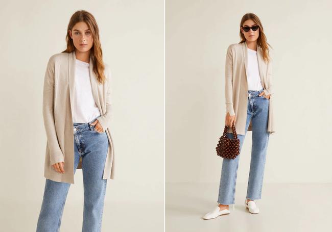 15 mẫu áo cardigan xinh hết ý từ Zara, Mango, Topshop mà các nàng sẽ muốn sắm bằng hết cho tủ đồ của mình - Ảnh 9.