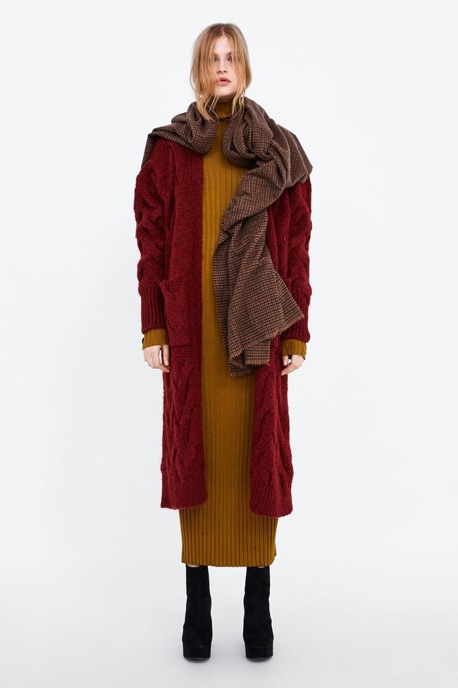 15 mẫu áo cardigan xinh hết ý từ Zara, Mango, Topshop mà các nàng sẽ muốn sắm bằng hết cho tủ đồ của mình - Ảnh 15.