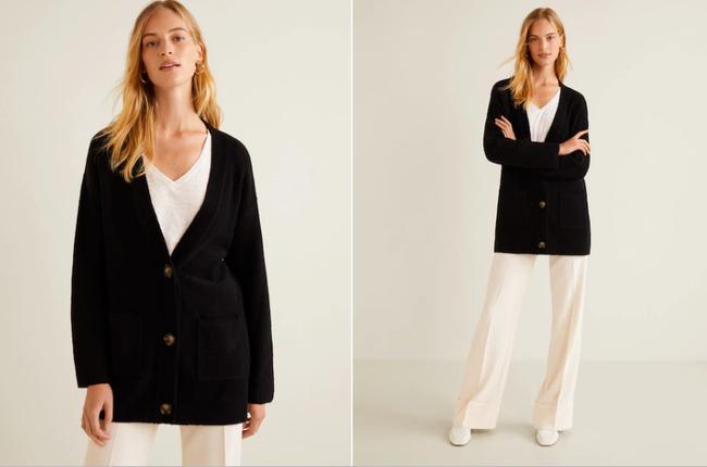15 mẫu áo cardigan xinh hết ý từ Zara, Mango, Topshop mà các nàng sẽ muốn sắm bằng hết cho tủ đồ của mình - Ảnh 7.
