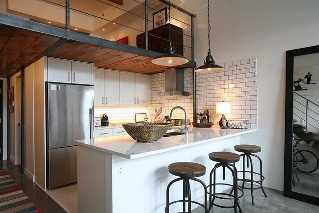 Nhà bếp dưới gác lửng - giải pháp hoàn hảo cho một ngôi nhà cần tiết kiệm không gian tối đa - Ảnh 13.