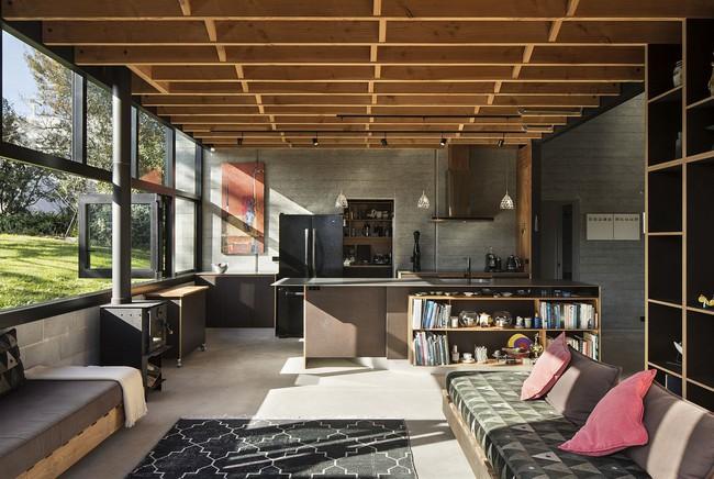Nhà bếp dưới gác lửng - giải pháp hoàn hảo cho một ngôi nhà cần tiết kiệm không gian tối đa - Ảnh 3.