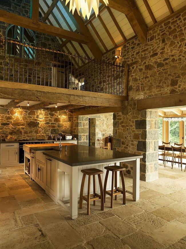 Nhà bếp dưới gác lửng - giải pháp hoàn hảo cho một ngôi nhà cần tiết kiệm không gian tối đa - Ảnh 8.