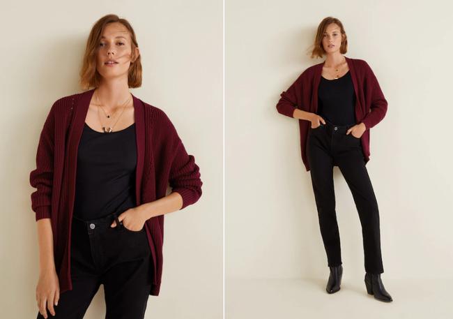 15 mẫu áo cardigan xinh hết ý từ Zara, Mango, Topshop mà các nàng sẽ muốn sắm bằng hết cho tủ đồ của mình - Ảnh 8.