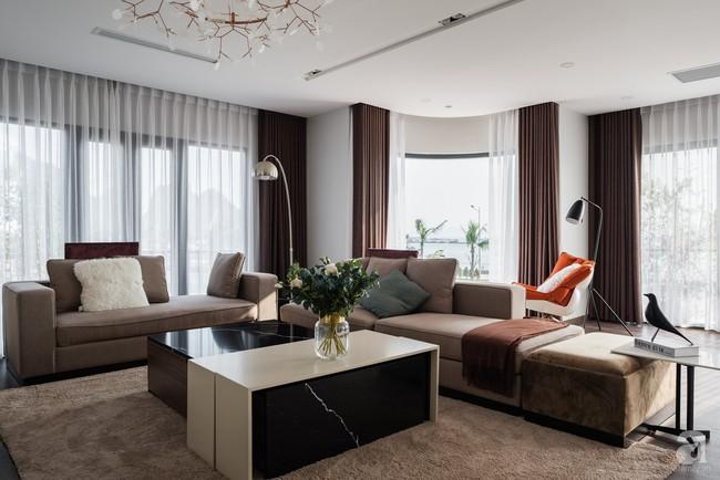 Biệt thự 378m² tạo nên dấu ấn khác biệt với vẻ đẹp hiện đại ở Hạ Long - Ảnh 3.