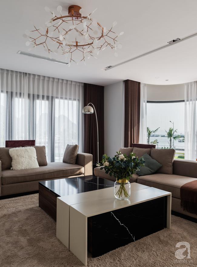 Biệt thự 378m² tạo nên dấu ấn khác biệt với vẻ đẹp hiện đại ở Hạ Long - Ảnh 2.
