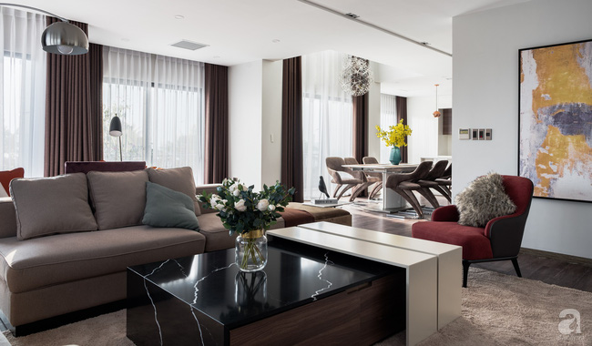 Biệt thự 378m² tạo nên dấu ấn khác biệt với vẻ đẹp hiện đại ở Hạ Long - Ảnh 1.