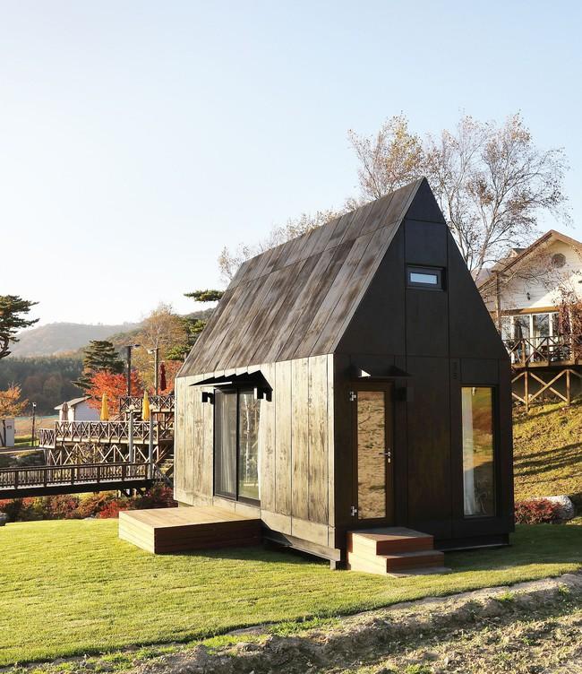 Thiết kế nhà nhỏ 20m² ấn tượng với phòng ngủ trên gác xép vừa đáng yêu vừa siêu tiết kiệm - Ảnh 12.