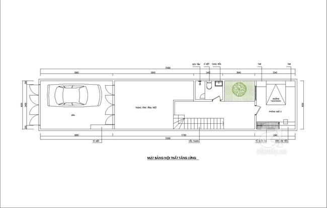 Tư vấn thiết kế nhà ống hẹp và dài nhưng vẫn tràn ngập ánh sáng lại rất tiết kiệm chi phí - Ảnh 2.