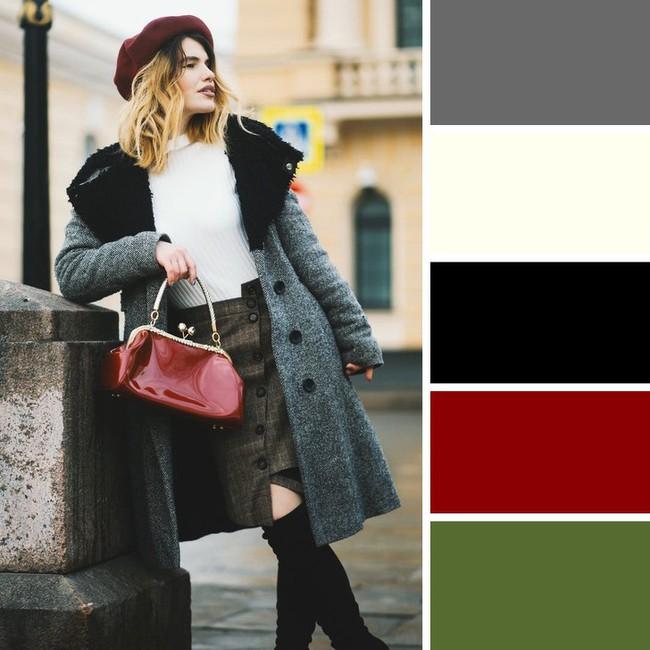 10 kiểu kết hợp màu sắc trang phục cực tinh tế mà vẫn giúp chị em nổi bật giữa những ngày đông lạnh giá - Ảnh 1.