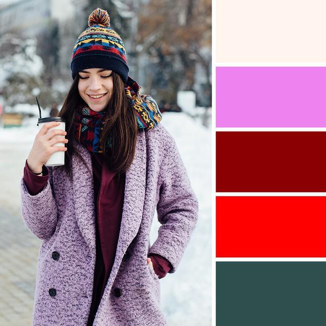 10 kiểu kết hợp màu sắc trang phục cực tinh tế mà vẫn giúp chị em nổi bật giữa những ngày đông lạnh giá - Ảnh 2.