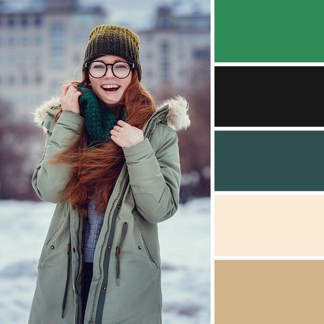 10 kiểu kết hợp màu sắc trang phục cực tinh tế mà vẫn giúp chị em nổi bật giữa những ngày đông lạnh giá - Ảnh 3.