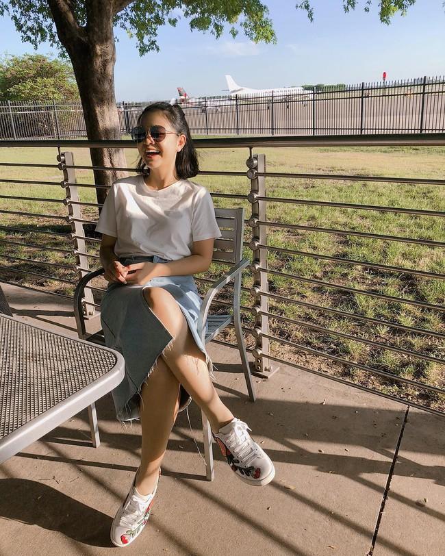 Nàng nào cũng muốn mix đồ siêu như Phạm Quỳnh Anh, diện đi diện lại 1 mẫu chân váy vẫn vẹn nguyên sự mới mẻ - Ảnh 4.