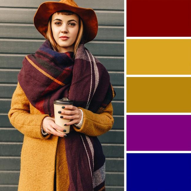 10 kiểu kết hợp màu sắc trang phục cực tinh tế mà vẫn giúp chị em nổi bật giữa những ngày đông lạnh giá - Ảnh 4.