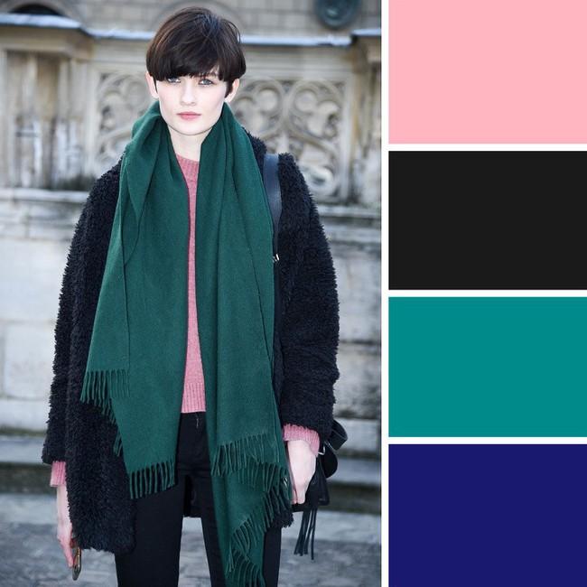 10 kiểu kết hợp màu sắc trang phục cực tinh tế mà vẫn giúp chị em nổi bật giữa những ngày đông lạnh giá - Ảnh 6.