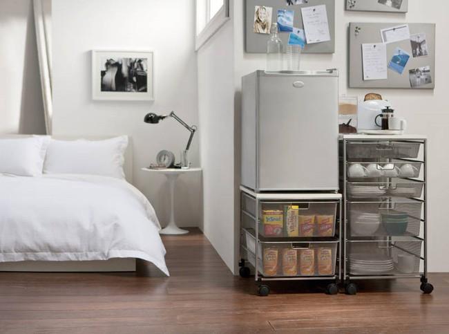 4 ý tưởng lưu trữ tối đa cho phòng ngủ vừa đẹp vừa gọn gàng - Ảnh 7.