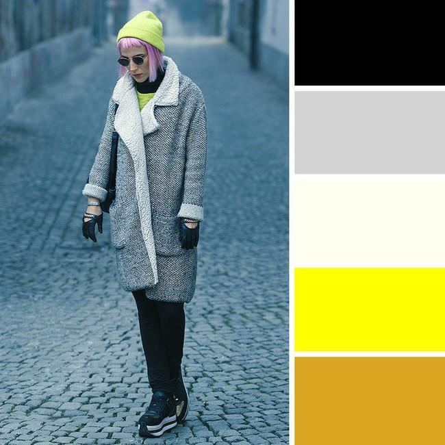 10 kiểu kết hợp màu sắc trang phục cực tinh tế mà vẫn giúp chị em nổi bật giữa những ngày đông lạnh giá - Ảnh 8.