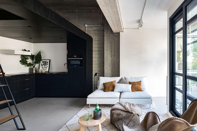 Ngôi nhà đúng chất đô thị trong không gian tinh tế và phong cách không thể nhầm lẫn - Ảnh 1.